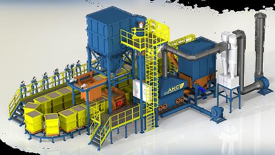 Завод АКС ЛГМ и ЛВМ  оборудование для литья. Литьё металлов сталь чугун латунь медь алюминий