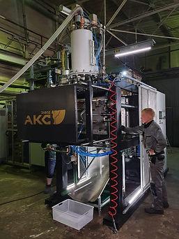 АКС ЛГМ формовочный автомат ФА 400 800 полистирольные модели