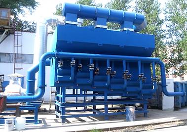 ЛГМ технология охладитель песка кипящего слоя в ЛГМ линии производства Завод АКС