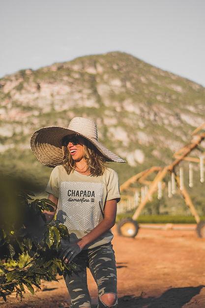 Chapada Since -modelo unisex - cor nude.