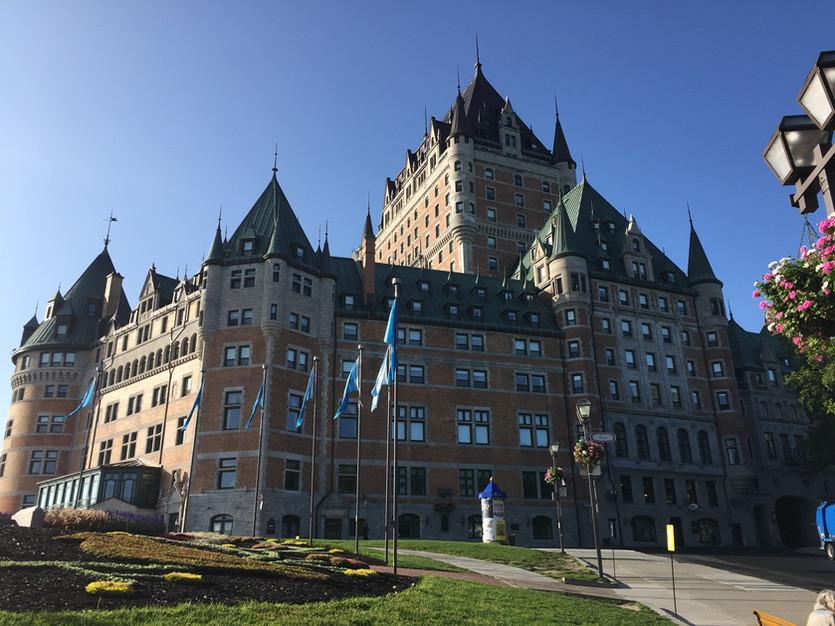 Ausflug nach Québec-City
