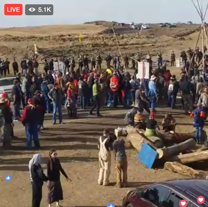 UPDATE - Solidarity with Standing Rock