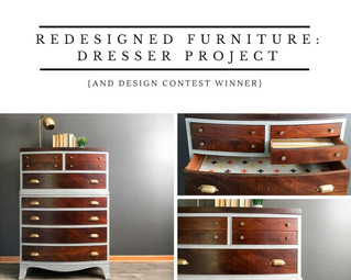 Redesigned Furniture: Dresser Project [and Design Contest Winner!]