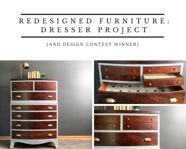 Redesigned Furniture: Dresser Project graphic