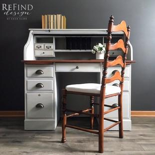 Custom Roll Top Desk