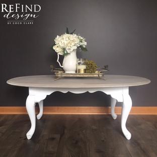 Custom Queen Anne Coffee Table