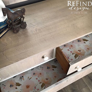 Redesigned Empire Dresser with Mirror