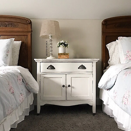 Antique Farmhouse Nightstand/Side Table