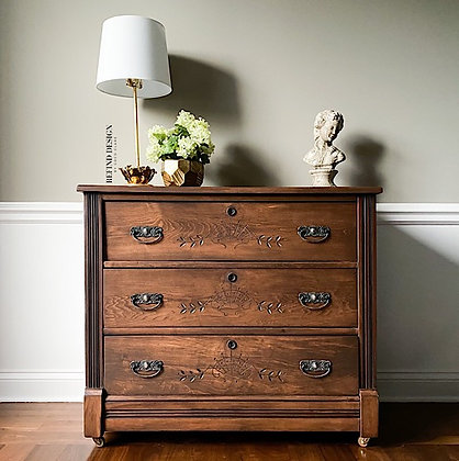 Eastlake Chest/Entryway Console