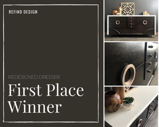 Redesigned Dresser: First Place Winner!