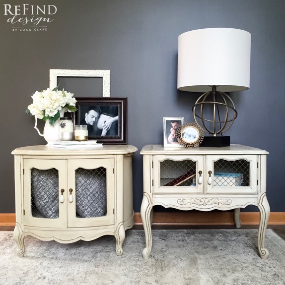 French Provincial Nightstands Redesigned