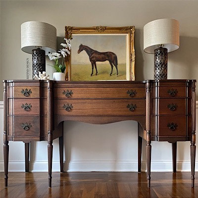 Antique English Style Buffet