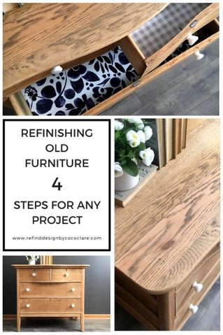 Redesigning Old Furniture: 4 Steps for Any Project