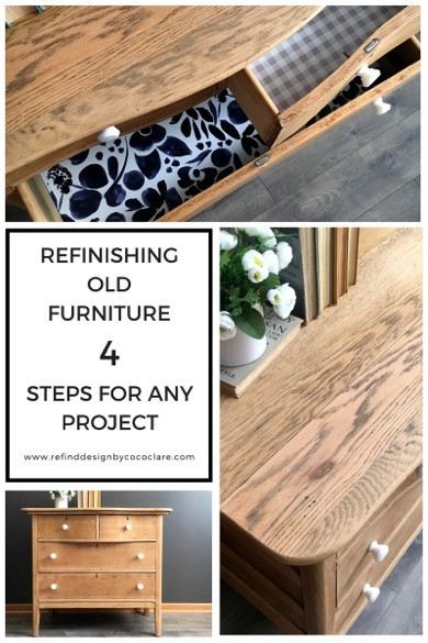 Redesigning Old Furniture Graphic