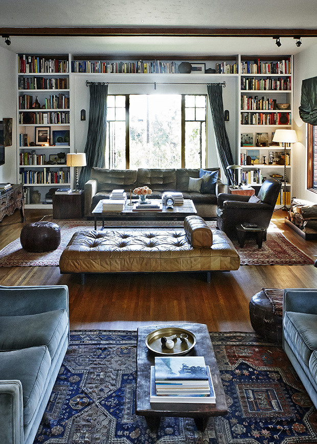 Large Living Room by designers Walton Goggins and Nadia Conners