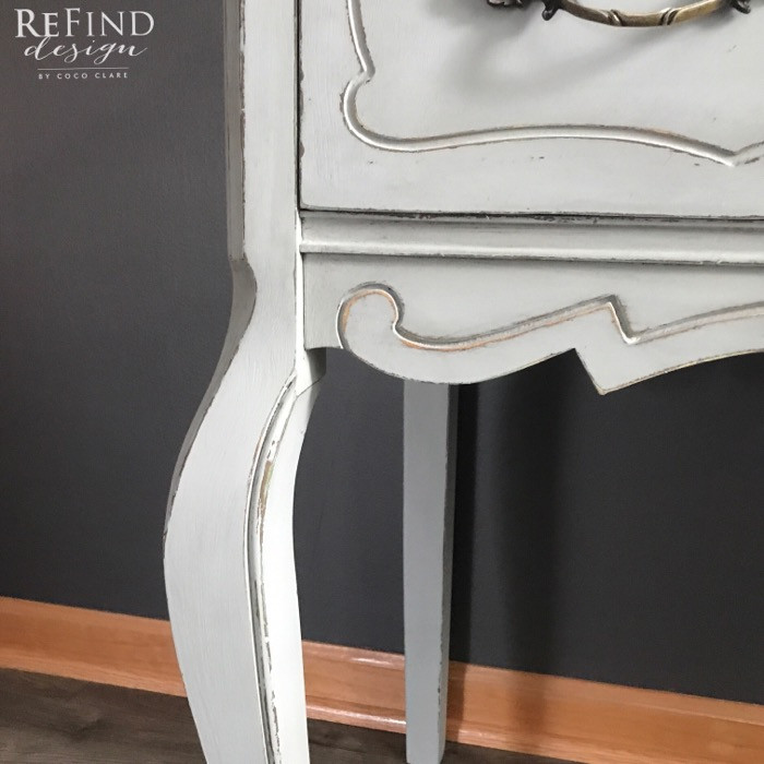 Redesigned Custom French Provincial Nightstand