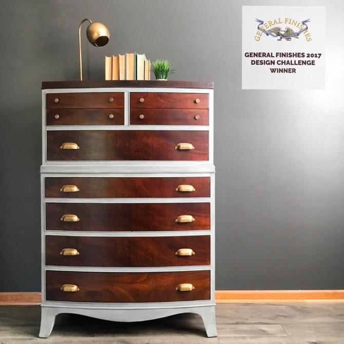Vintage Hepplewhite Redesigned Dresser