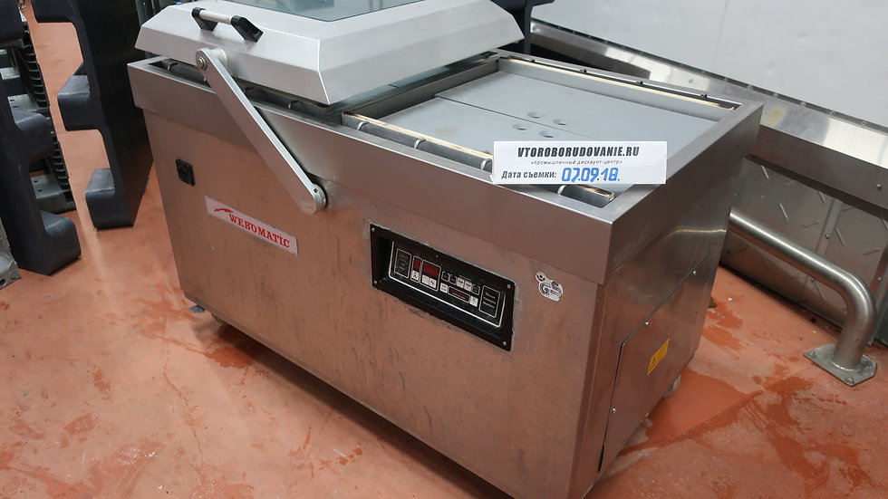 Двухкамерный упаковщик Webomatic CD-120