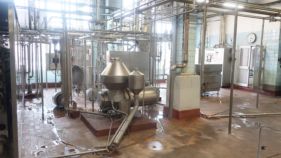 Линия высокотемпературной обработки молока Tetra Therm Aseptic Flex