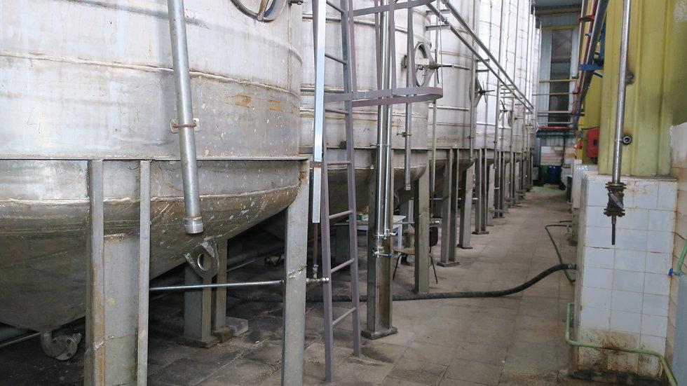 Резервуар для хранения соковой продукции