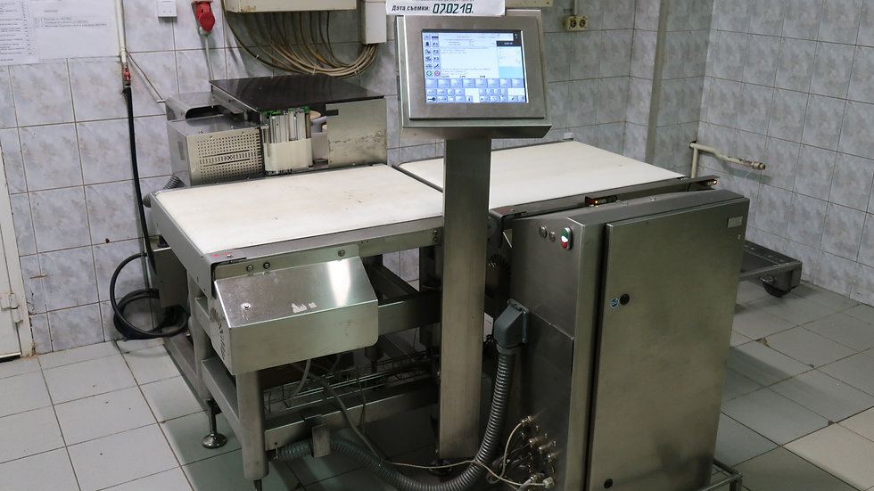 Высокоскоростной этикетировочный автомат Bizerba GLM-I бу
