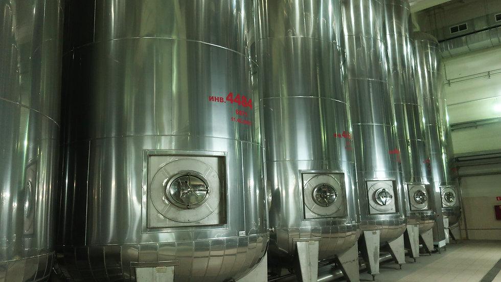 Емкость (резервуар) бродильная - V-6000 дал.