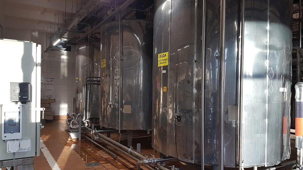 Молочные танки 10 м