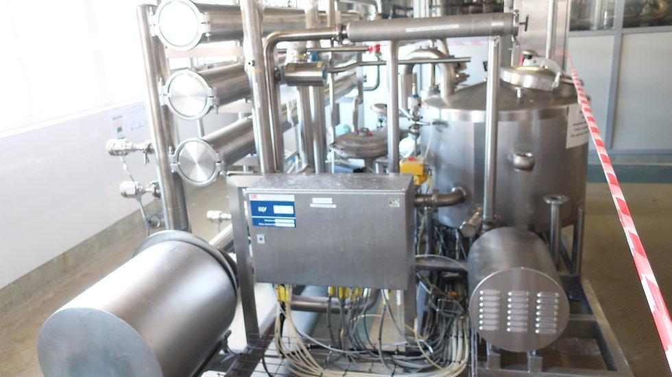 Линия ESL молока GEA 25 т