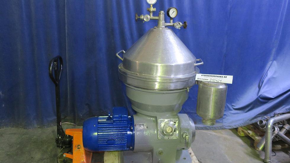 Сепаратор для очистки сыворотки от молочного жира и казеиновой пыли марки Ж5-ОХ2
