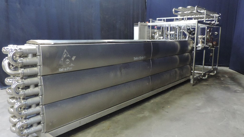 Трубчатая пастеризационная установка Therm Aseptic Drink SA 11000