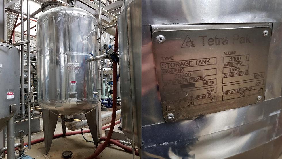 Емкость для хладагента Tetra Pak 4,8 тонн