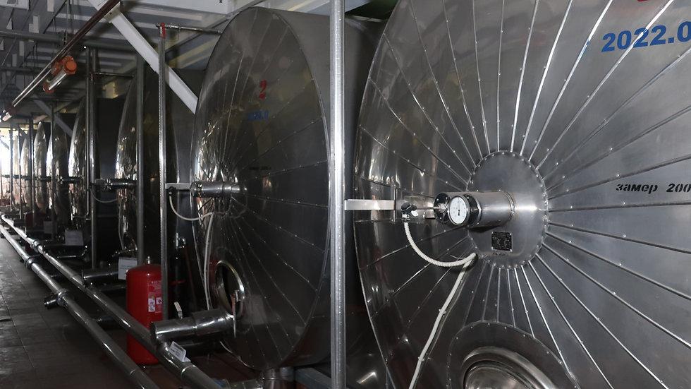 Емкость с рубашкой для охлаждения коньяка 20 м³