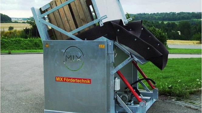 Опрокидыватель контейнеров MIX FKKG B150