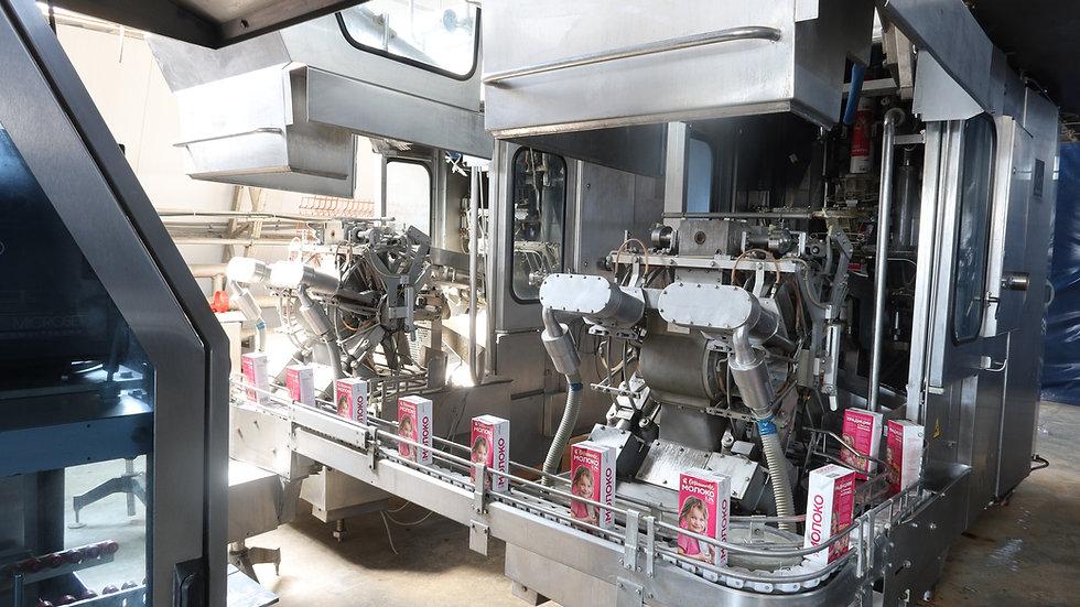 Линия розлива молока Tetra Pak TBA-8 1000 Slim
