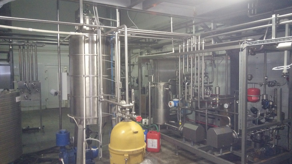 Линия переработки молока 10 т/ч