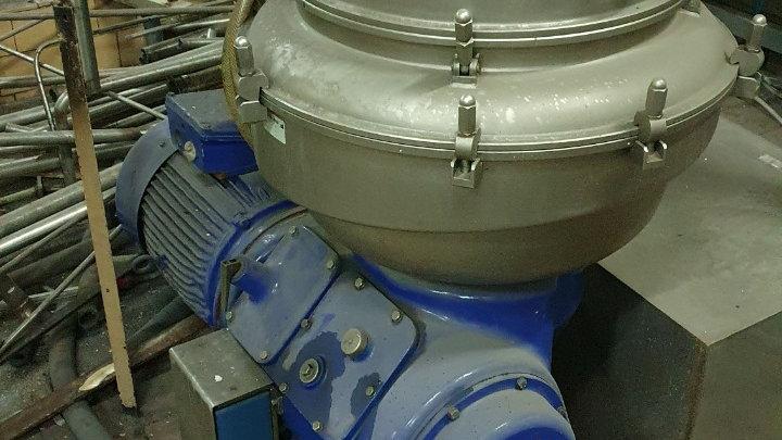 Сепаратор Alfa Laval VNPX 513SFD-34CGL для осветления (фильтрации) сусла