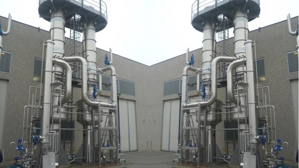 Вакуум выпарная установка Poseidon 3D TVR 2000 кг в час