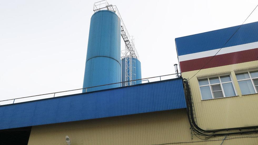 Танк молочный 200 тонн
