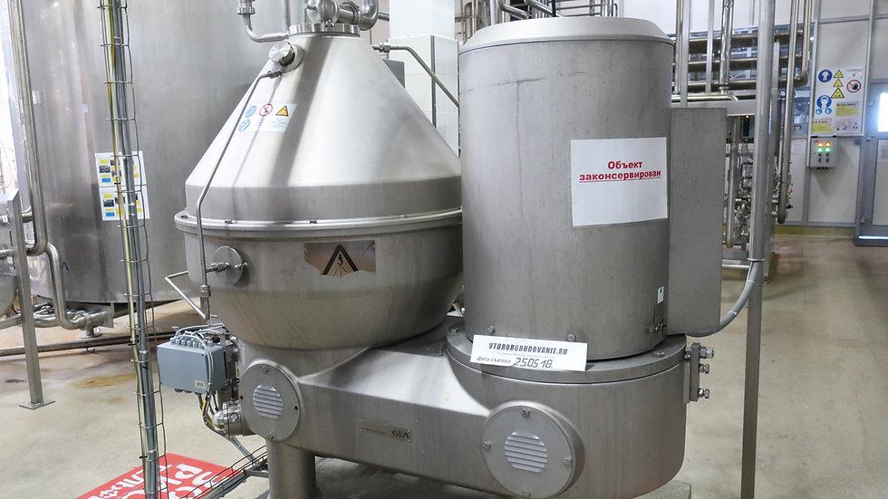Сепаратор - бактофуга GEA - 25 Т.