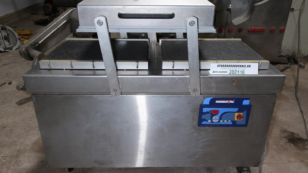 Напольный двухкамерный вакуумный упаковщик HENKOVAC E-403XL бу.