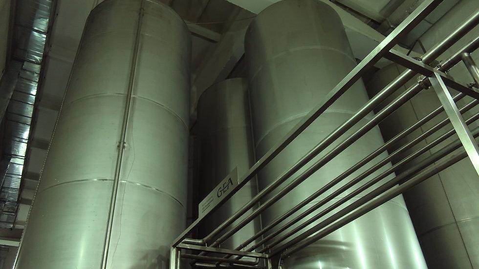Емкость для выдержки резервуарного ликера- V-3000дал.