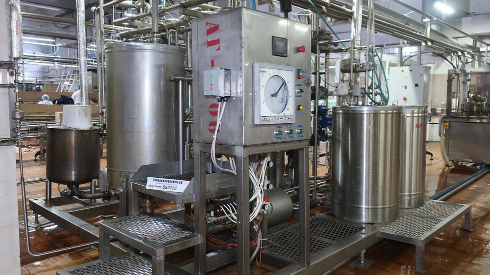 Пастеризатор для молока 5 тонн в час