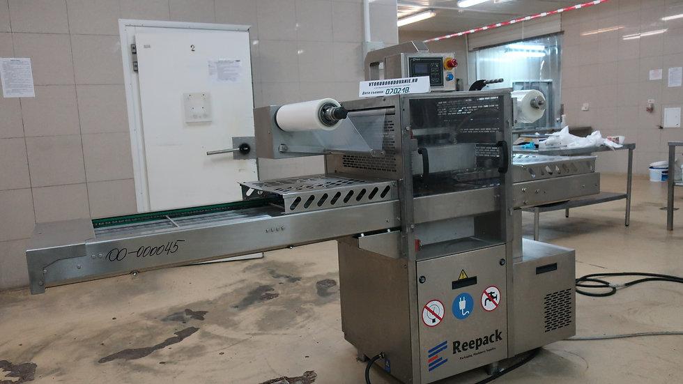 Автоматический запайщик лотков Reepack Reebasic с технологией вакуум-газ бу