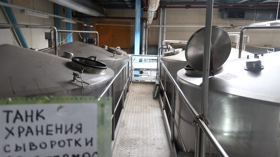 Танки хранения сыворотки 20 Т - 5 шт.