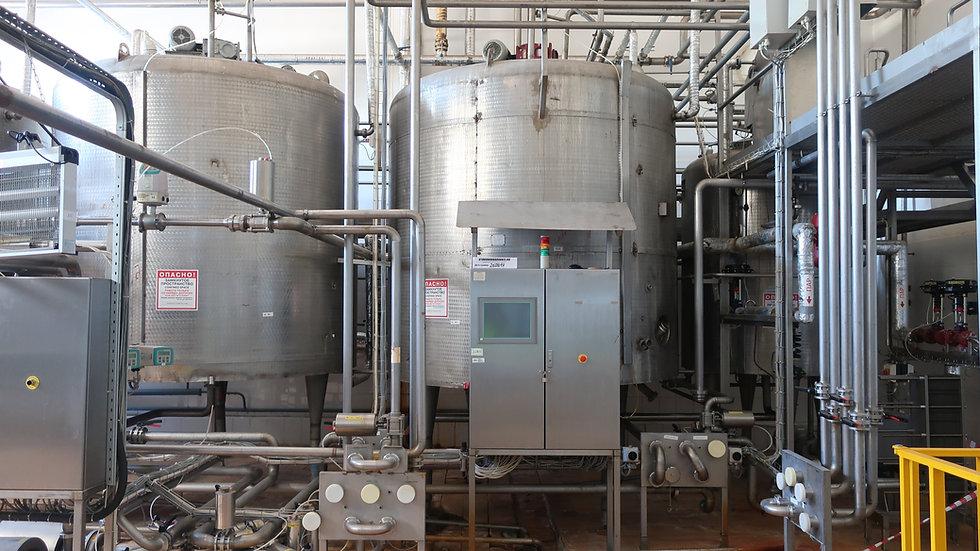 Установка восстановления молока и рекомбинации масла