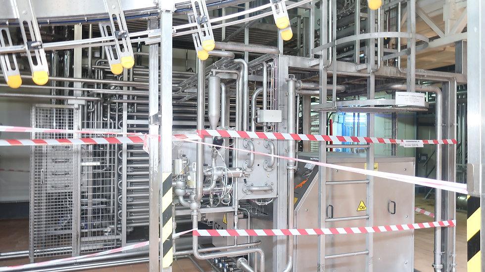 Станция стерилизации молока GEA 6000 литров