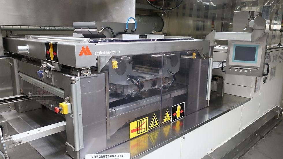 Линия отливки шоколада aasted mikroverk 870 кг  час