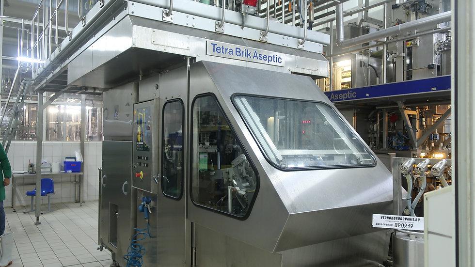Линия розлива TBA8 1000S Tetra Pak