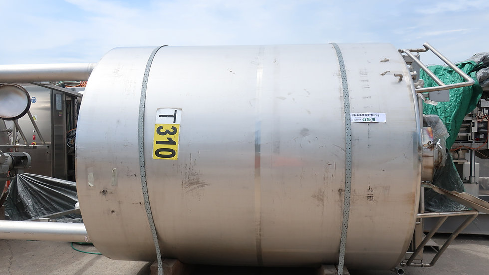 Танк термос с мешалкой 10 м³