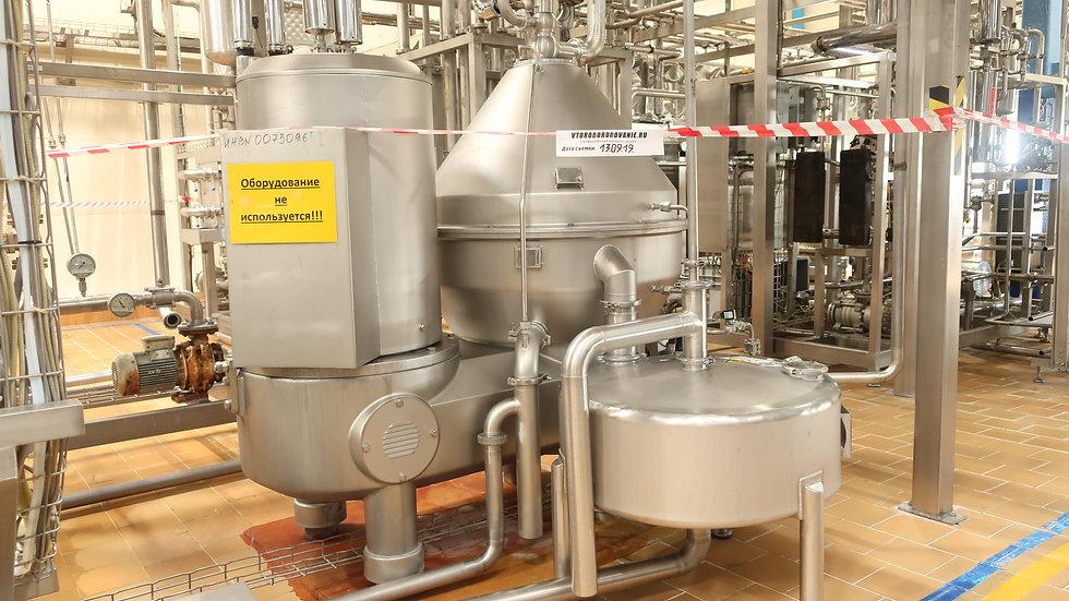 Сепаратор бактофуга 25 тонн час GEA MSE 230-01-777